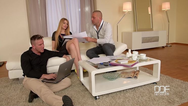 Planning Office - Ever-Hungry Multidick Sucking Bombshell