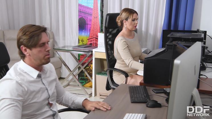 Cock Sucking At Work